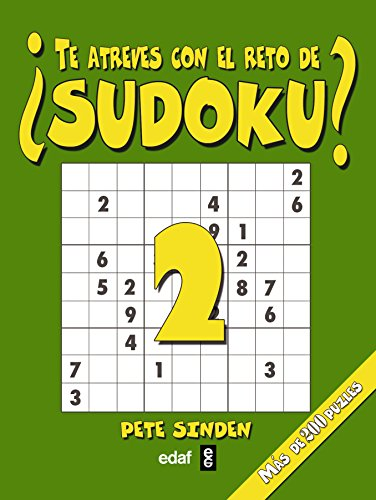 9788441424814: 2: Te Atreves Con El Reto De Sudoku (Cómo hacer móviles)