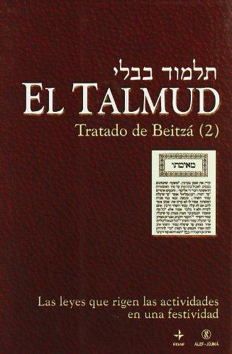 El Talmud, vol. 9: Tratado de Beitza,: JOJMA, GRUPO ALEF