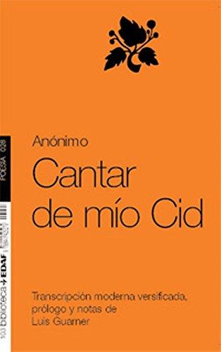 9788441425279: Cantar de Mio Cid (Poesia) (Spanish Edition)
