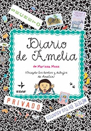 9788441425392: Diario De Amelia (Infantil-Amelia)