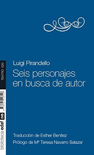 SEIS PERSONAJES EN BUSCA DE AUTOR: Josep M Benet
