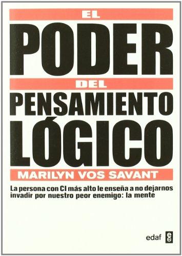 9788441428355: Poder Del Pensamiento Logico (Psicología y Autoayuda)