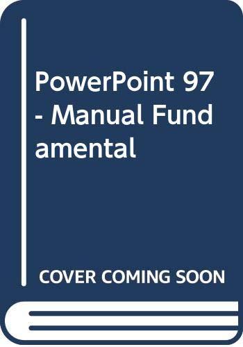 9788441502635: PowerPoint 97 - Manual Fundamental (Spanish Edition)