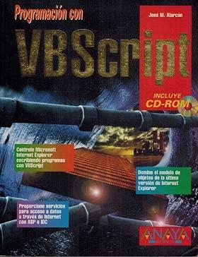 9788441504110: Programacion Con VBScript (Spanish Edition)