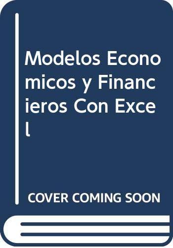 9788441505919: Modelos Economicos y Financieros Con Excel (Spanish Edition)