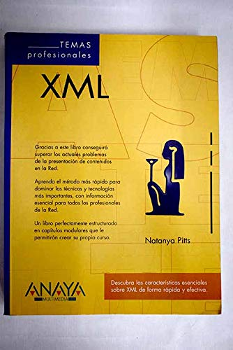 XML - Temas Profesionales (Spanish Edition) (8441508453) by Natanya Pitts