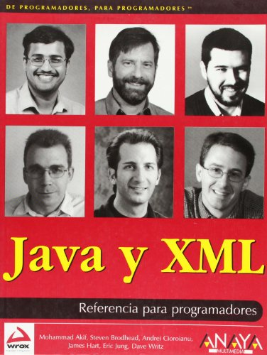 9788441513549: Java y XML (Anaya Multimedia/Wrox)