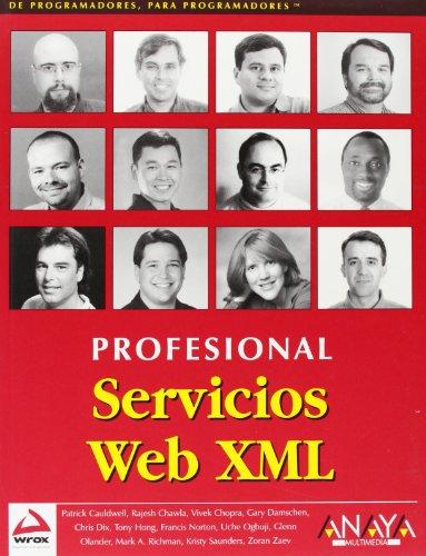 9788441513631: Servicios Web XML/ XML Web Services (Spanish Edition)