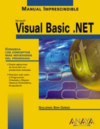 9788441513945: Visual Basic .net (Manuales Imprescindibles / Essential Manuals) (Spanish Edition)
