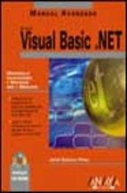 9788441514454: Visual basic.net - manual avanzado - (Manuales Avanzados / Advanced Manuals)