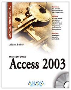 9788441516588: Access 2003 (Manuales Fundamentales)