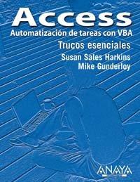 9788441518230: Access. Automatización de tareas con VBA (Trucos Esenciales)
