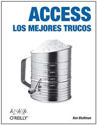 9788441518964: Access: Los mejores trucos (Anaya Multimedia / O'Reilly) (Spanish Edition)