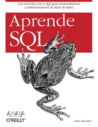 9788441520356: Aprende SQL/ Learning SQL (Spanish Edition)