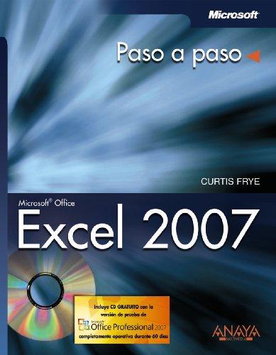 9788441521605: Excel 2007 (Paso A Paso)