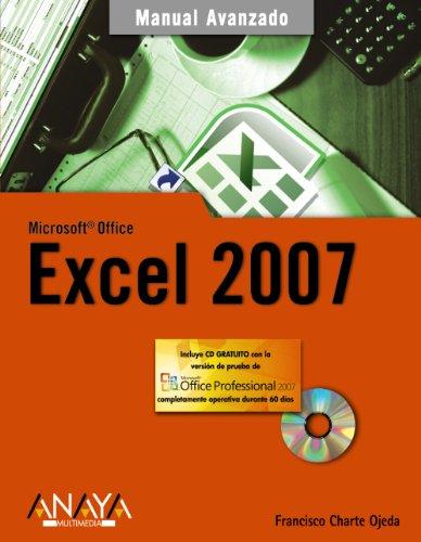 9788441521759: Excel 2007 (Manuales Avanzados)