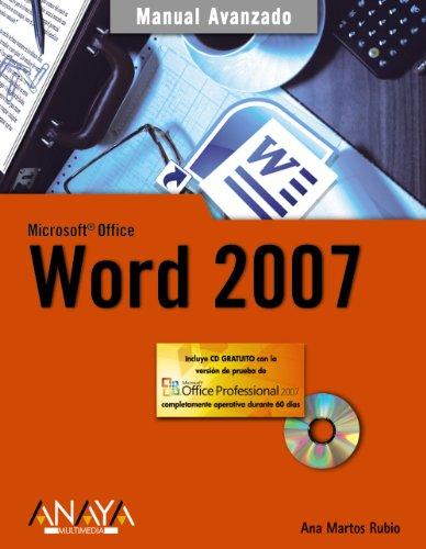 9788441521797: Microsoft Office Word 2007 (Manual Avanzado) (Spanish Edition)