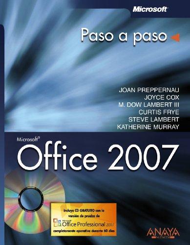9788441522015: Office 2007 (Paso A Paso)