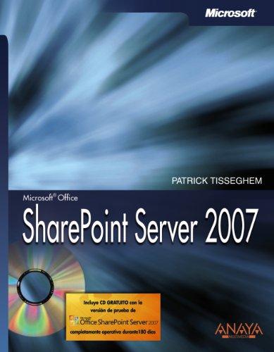 9788441522763: SharePoint Server 2007 (Manuales Técnicos)