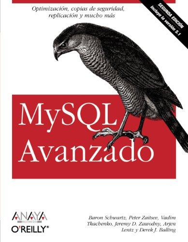 MySQL Avanzado (Segunda Edición): Shuwartz, Baron; Zaitsev,