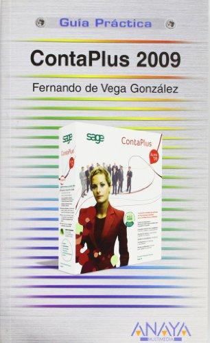 ContaPlus 2009 (Guías Prácticas): Vega González, Fernando