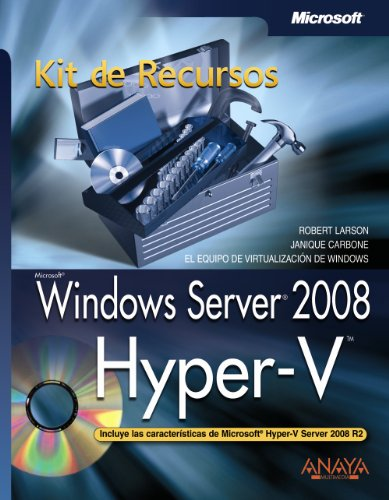 9788441526624: Windows Server 2008: Hyper-v. Kit De Recursos (Spanish Edition)