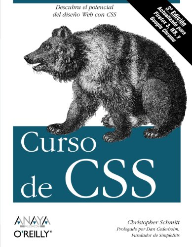 9788441527508: Curso de CSS / CSS Cookbook (Spanish Edition)