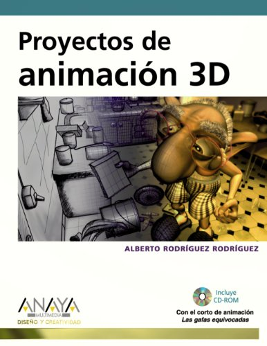 9788441527515: Proyectos de animacion 3D / 3D Animation Projects (Spanish Edition)