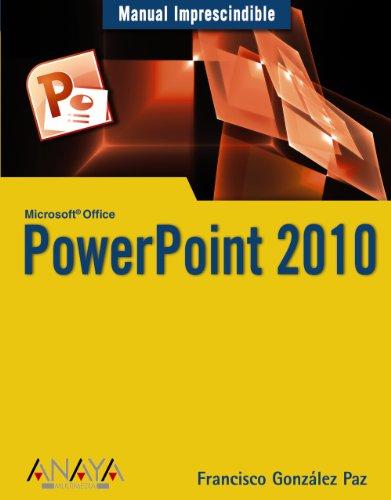 9788441527942: PowerPoint 2010 (Manuales Imprescindibles)