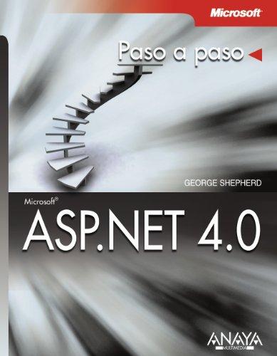 9788441528123: Microsoft ASP.NET 4.0: Paso a paso / Step by Step (Spanish Edition)