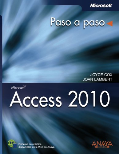 9788441528666: Access 2010 / Microsoft Access 2010: Paso a paso / Step by Step (Spanish Edition)