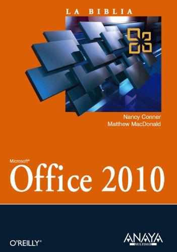 9788441528840: La biblia de Office 2010 / Office 2010 The Missing Manual (Spanish Edition)