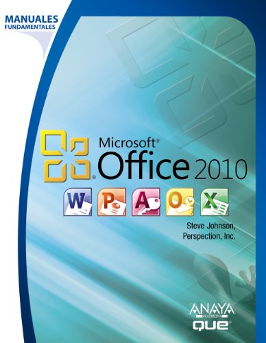 9788441528888: Manual fundamental de Office 2010 / Microsoft Office 2010 on Demand (Spanish Edition)