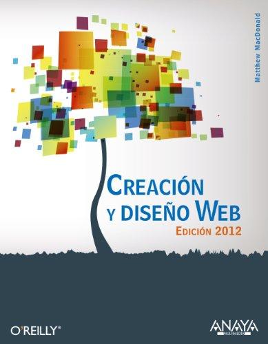 9788441529854: Creación y diseño Web. Edición 2012 (Títulos Especiales)