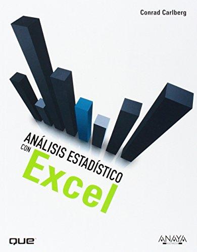 9788441530263: Análisis estadístico con Excel / Statistical analysis Microsoft Excel 2010 (Spanish Edition)