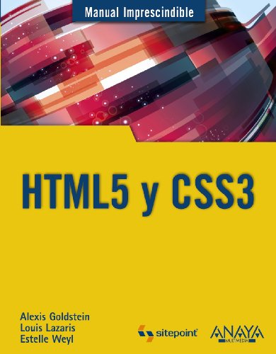 9788441530492: HTML5 y CSS3 / HTML5 and CSS3 (Spanish Edition)