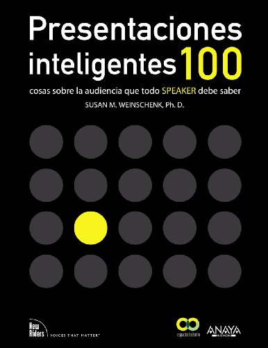 9788441532175: Presentaciones inteligentes. 100 cosas sobre la audiencia que todo