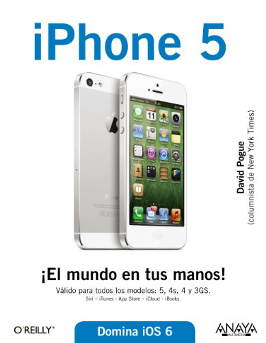 9788441533332: iPhone 5 / iPhone. The Missing manual (Spanish Edition)