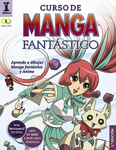 9788441539716: Curso de manga fantástico. Aprende a dibujar Anime y Manga (Espacio De Diseño)