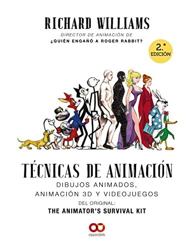 9788441541139: Técnicas de animación. Dibujos animados, animación 3D y videojuegos (Espacio De Diseño)