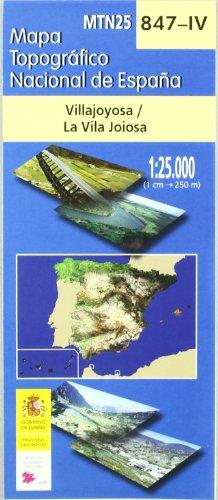 9788441605817: Villajoyosa. (847-Iv) M.T.N.1:25.000