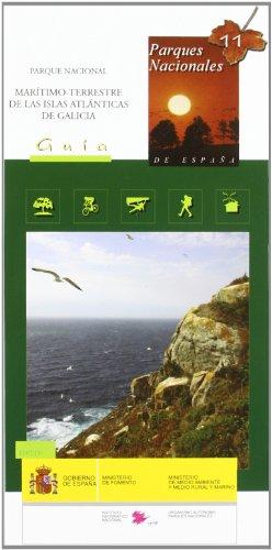 Guia y mapa del parque nacional maritimo-terrestre de las islas atlanticas de Galicia