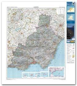9788441620766: Mapa de la Provincia de Almería a Escala 1:200.000