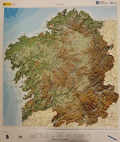 9788441633551: Galicia (Relieve)
