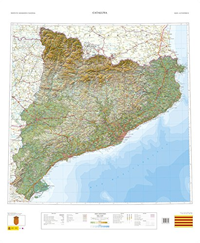 9788441636385: Cataluña (Relieve)