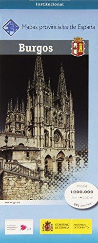 9788441636743: Mapa provincial Burgos 1:200.000