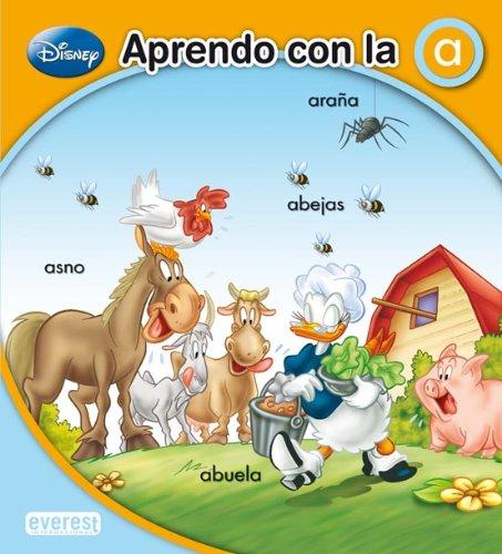 9788444101705: APRENDO CON LA A (Spanish Edition)