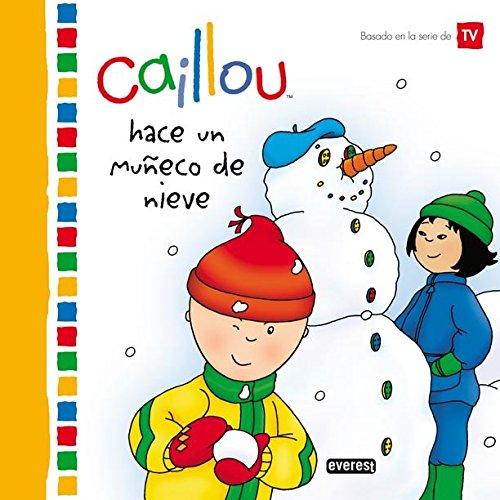 9788444103549: Caillou hace un muñeco de nieve (Mis cuentos de Caillou)
