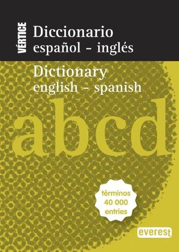 9788444110813: Diccionario Nuevo Vértice Español-Inglés/Inglés-Español