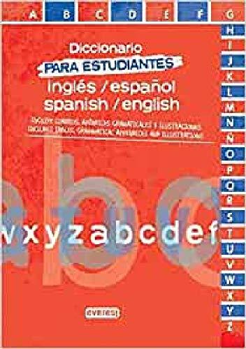 9788444110844: Diccionario para estudiantes de Español-Inglés / Inglés-Español